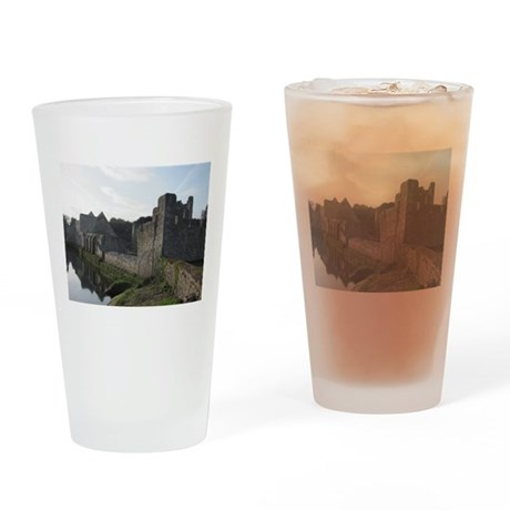 Castle ruins Drinking Glass