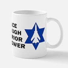 Israeli - Peace through superior firepower Mug