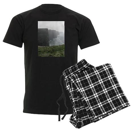 Cliffs of Moher Men's Dark Pajamas