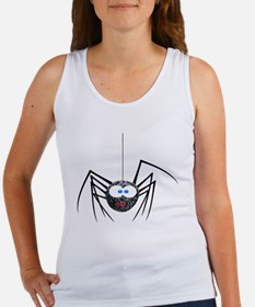Goofy Furry Spider Women's Tank Top