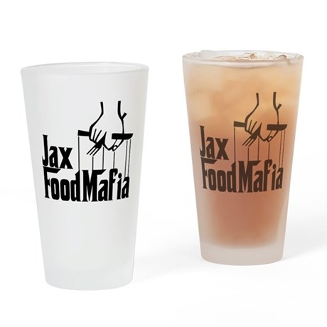 Jax Food Mafia Drinking Glass