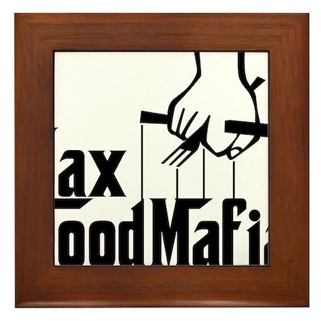 Jax Food Mafia Framed Tile