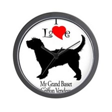 Grand Basset Griffon Vendeen Wall Clock