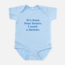 four hours Infant Bodysuit