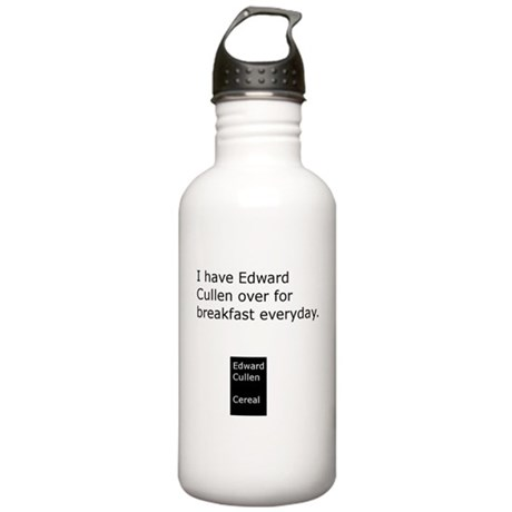 """I Have Edward Cullen"" Stainless Water Bottle 1.0L"