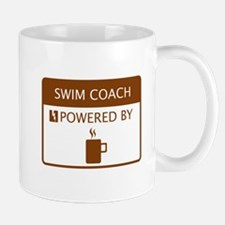 Swim Coach Powered by Coffee Mug