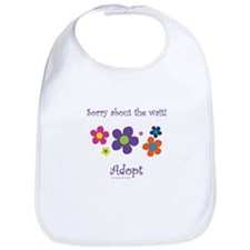 Sorry about the wait (girl) Bib