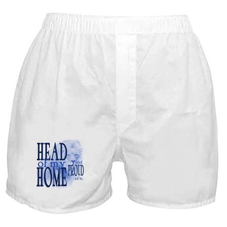 Head of my Home BLUE Boxer Shorts