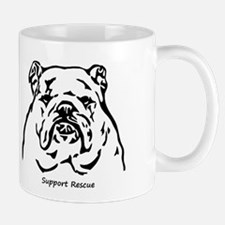 Bulldog Support Rescue Mug