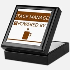 Stage Manager Powered by Coffee Keepsake Box