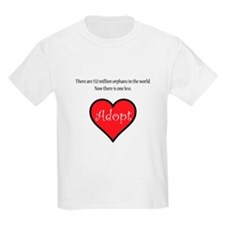 One less orphan T-Shirt