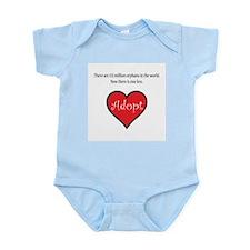 One less orphan Infant Bodysuit