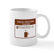 Special Education Teacher Powered by Coffee Mug
