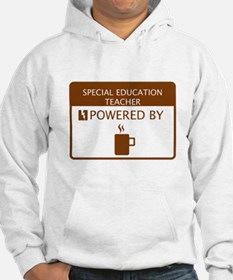 Special Education Teacher Powered by Coffee Hoodie