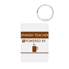 Spanish Teacher Powered by Coffee Keychains