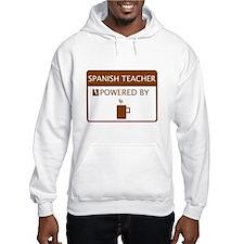 Spanish Teacher Powered by Coffee Hoodie