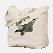 Air Force F22 Raptor Tote Bag