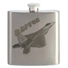 Air Force F22 Raptor Flask