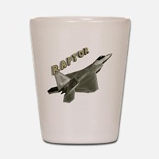 Air Force F22 Raptor Shot Glass