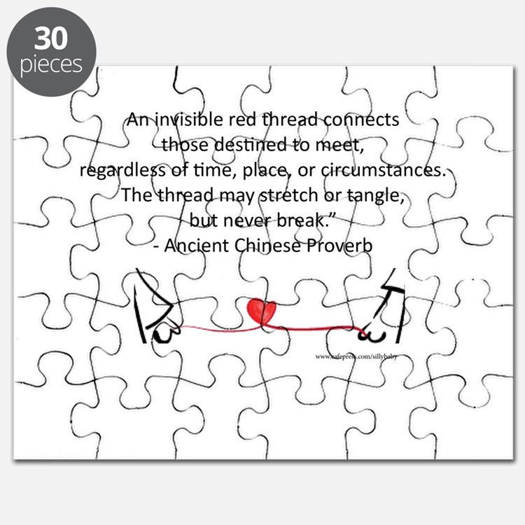 Red Thread Proverb Puzzle