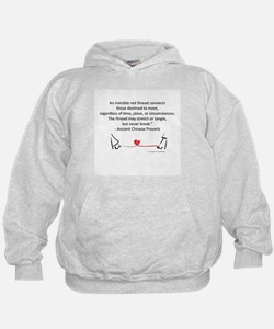 Red Thread Proverb Hoodie