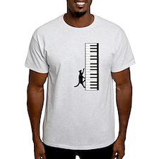 Cat and Piano v.2 T-Shirt