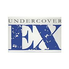 Undercover Ex, Funny Design Rectangle Magnet
