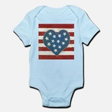 American Love Infant Bodysuit