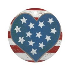 American Love Ornament (Round)