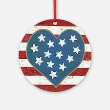 American Love Ornament (Round)