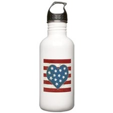 American Love Sports Water Bottle