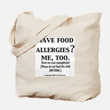 Cute Allergy Tote Bag