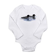 loon family Long Sleeve Infant Bodysuit