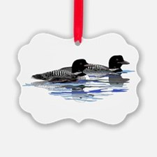 loon family Ornament