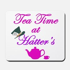 Tea Time at Hatters Mousepad