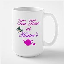 Tea Time at Hatters Large Mug