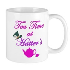 Tea Time at Hatters Small Mugs