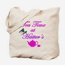 Tea Time at Hatters Tote Bag