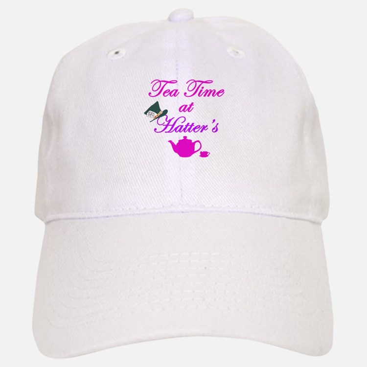 Tea Time at Hatters Baseball Baseball Cap