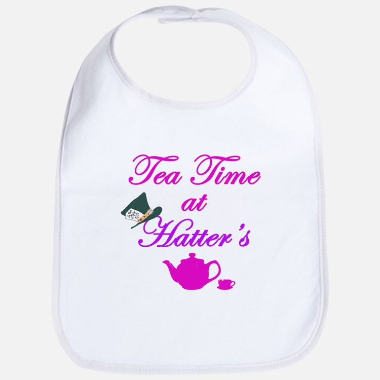 Tea Time at Hatters Bib