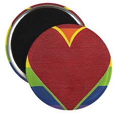 Rainbow Love by Kristi L Randall Magnet