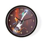 Guitar Melody Wall Clock