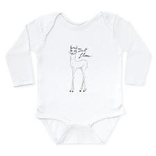 Dali Llama Long Sleeve Infant Bodysuit