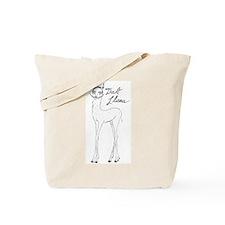 Dali Llama Tote Bag