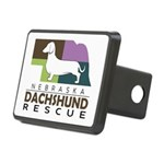 "5"" X 3.75"" Rectangular Hitch Cover"