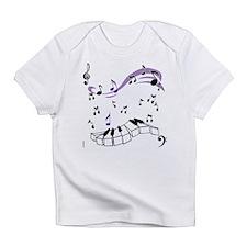 OYOOS Piano notes design Infant T-Shirt