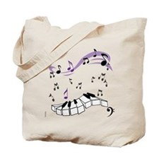 OYOOS Piano notes design Tote Bag