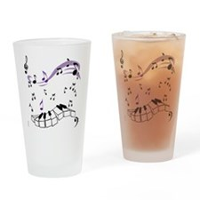 OYOOS Piano notes design Drinking Glass