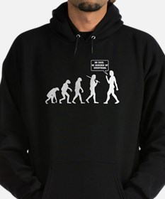 The Evolution Of Man. Turn Back Hoodie