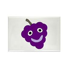 Grape Rectangle Magnet